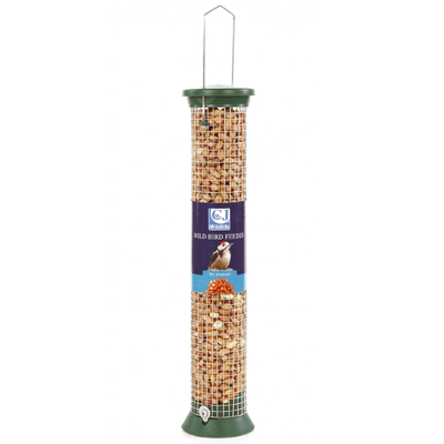 CJ Plastic Peanut Feeder (Green) Medium