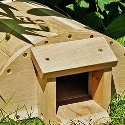 Wildlife World Wooden Hedgehog House
