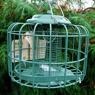 The Nuttery Mini Caged Feeders Peanut