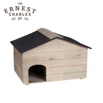 ernst-charles-hedgehog-house-wooden