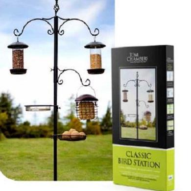 Classic bird station