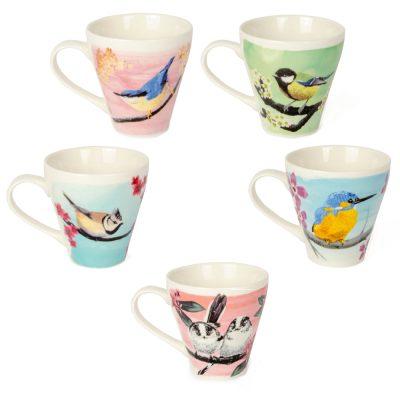 Myrte Bird Mugs